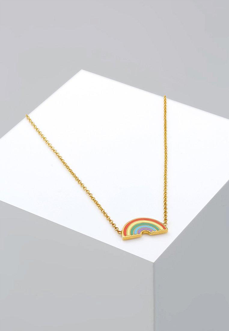Elli - REGENBOGEN EMAILLE MAGIC   - Ketting - gold-coloured