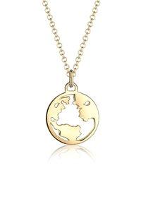 Elli - Weltkugel Globus - Ketting - gold-coloured - 5