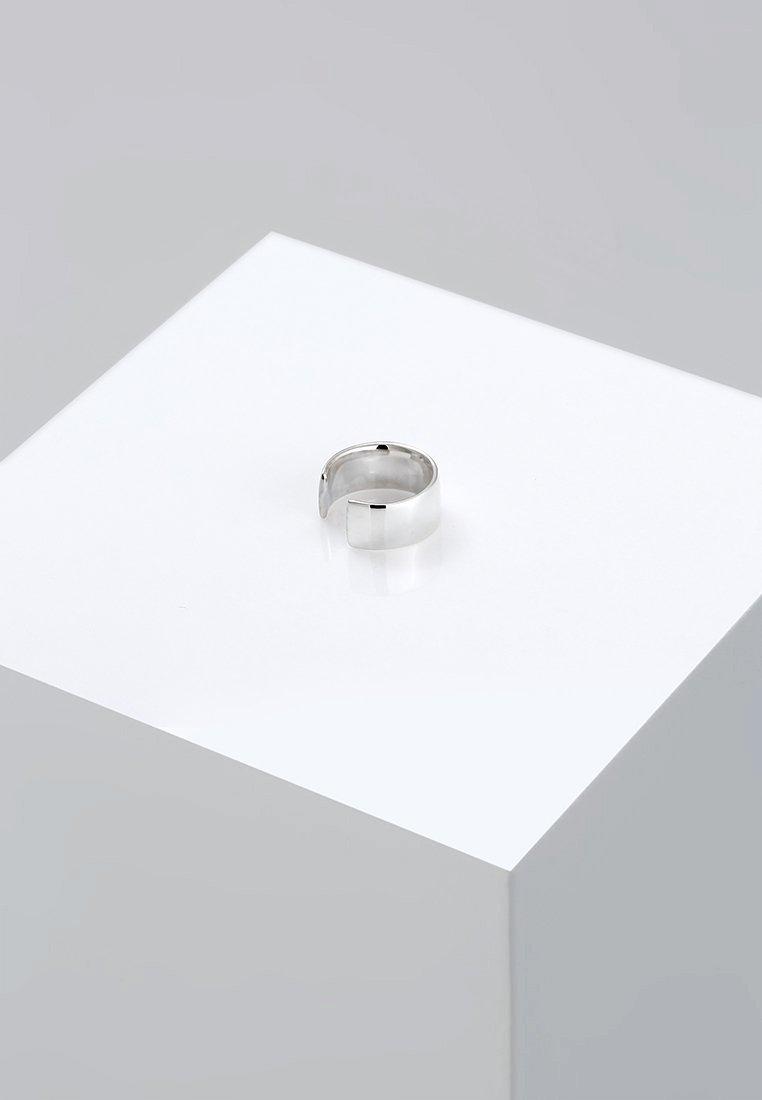 Elli - BASIC SINGLE EARCUFF  - Øreringe - silver-coloured