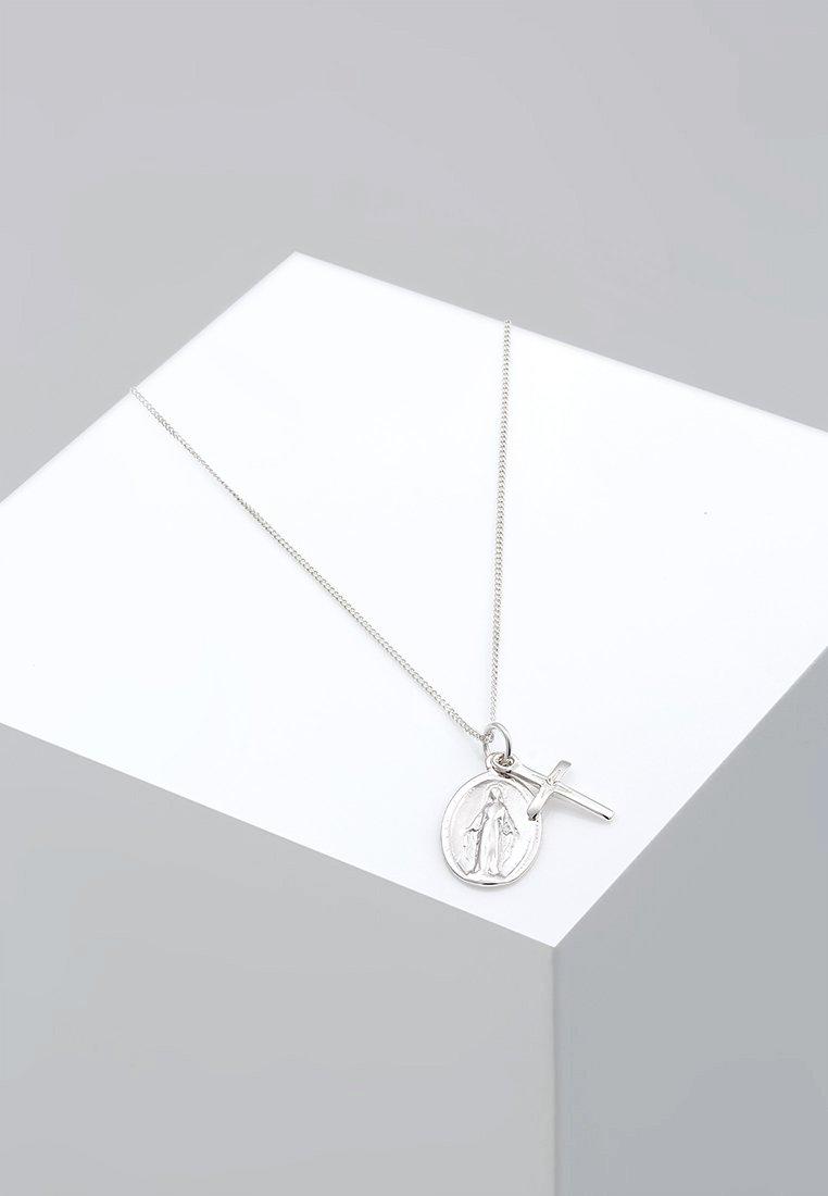 Elli - MARIENBILD KREUZ  KONFIRMATION - Necklace - silver-coloured