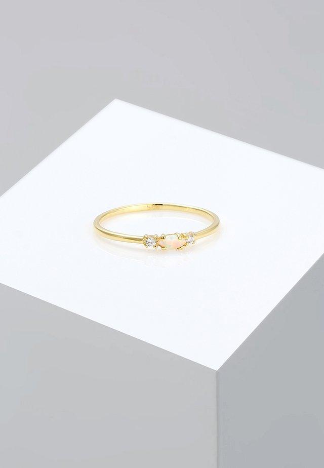 GEO VINTAGE MARQUISE  - Pierścionek - gold