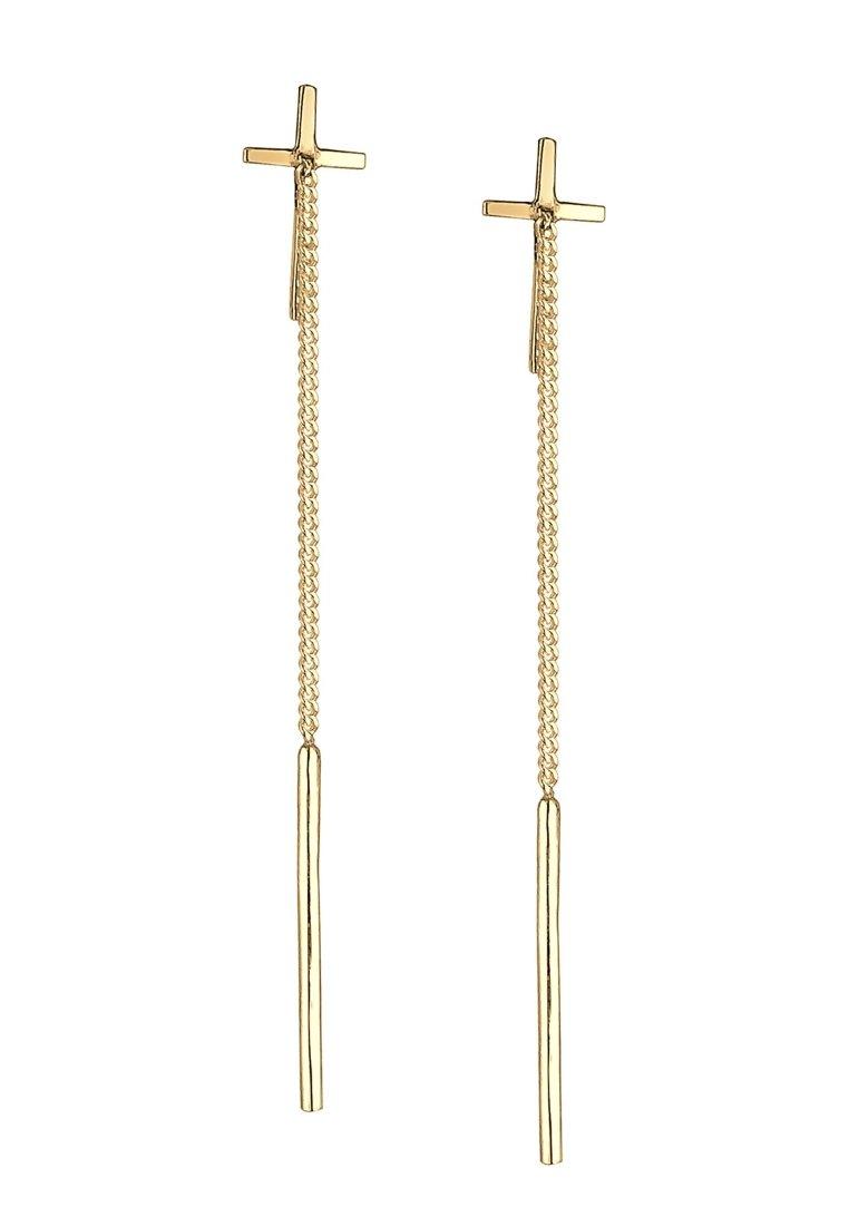 Elli Kreuz Geo - Øreringe Gold-coloured