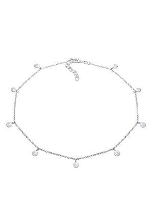 GEO KREIS BASIC MATT COIN - Necklace - silver