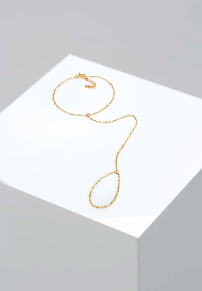 Elli - HANDCHAIN BASIC  - Bracelet - gold-coloured
