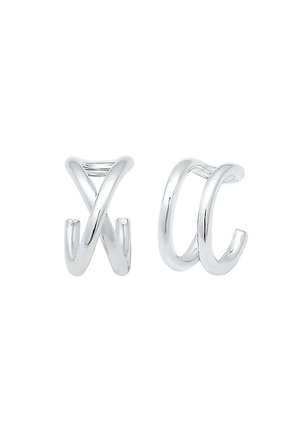 EARCUFF SET GEO BASIC MINIMAL PASOTA - Earrings - silver