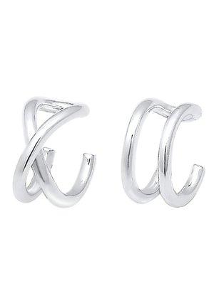 SET GEO BASIC MINIMAL  PASOTA - Earrings - silver