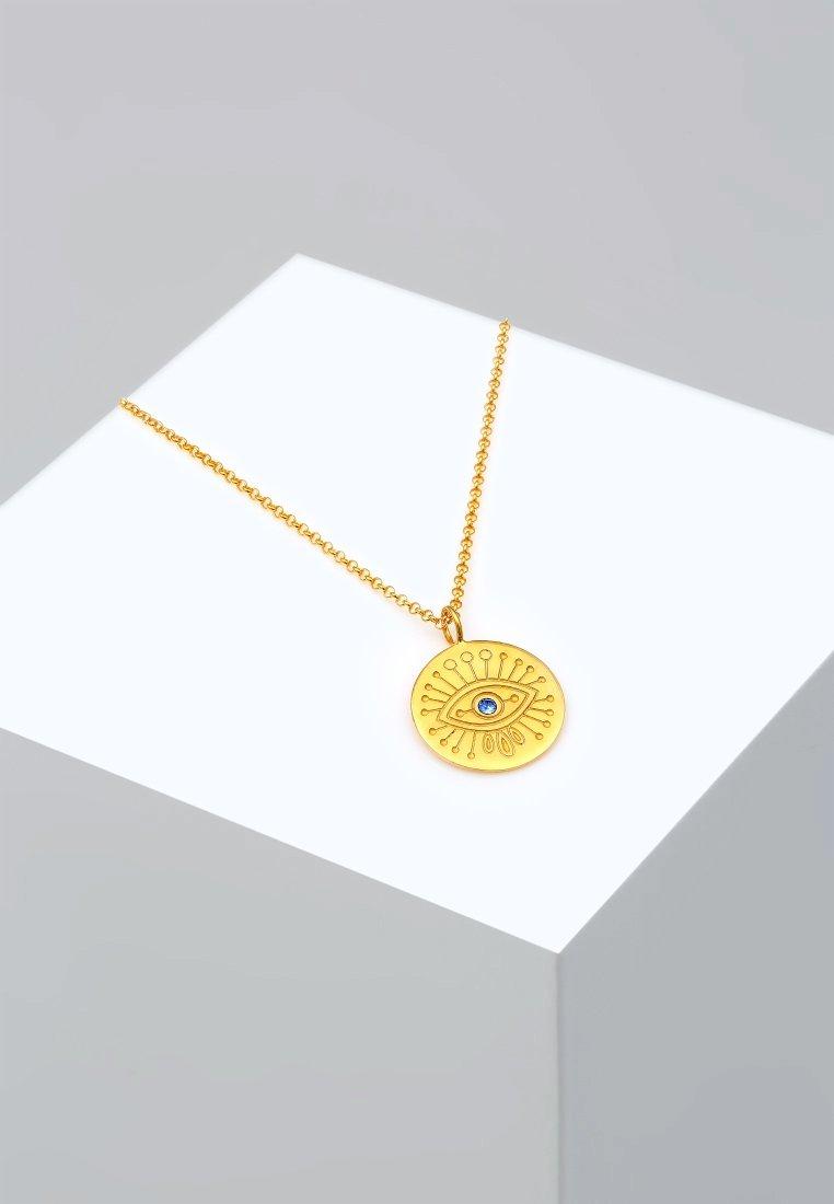 Elli - EVIL EYE SYMBOL - Collier - gold-coloured
