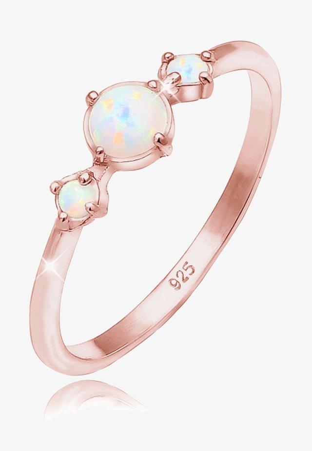 GEO TRIO TREND - Ring - rose gold