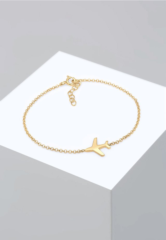 FLUGZEUG - Bransoletka - gold-coloured