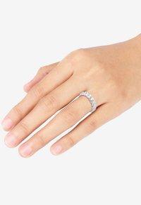 Elli - BANDRING TWISTED - Ringe - silver coloured - 1