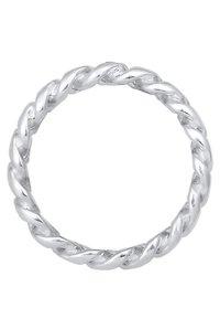Elli - BANDRING TWISTED - Ringe - silver coloured - 4