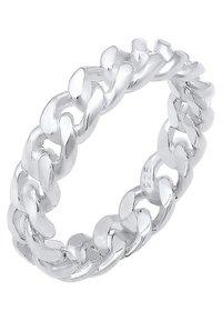 Elli - BANDRING TWISTED - Ringe - silver coloured - 0