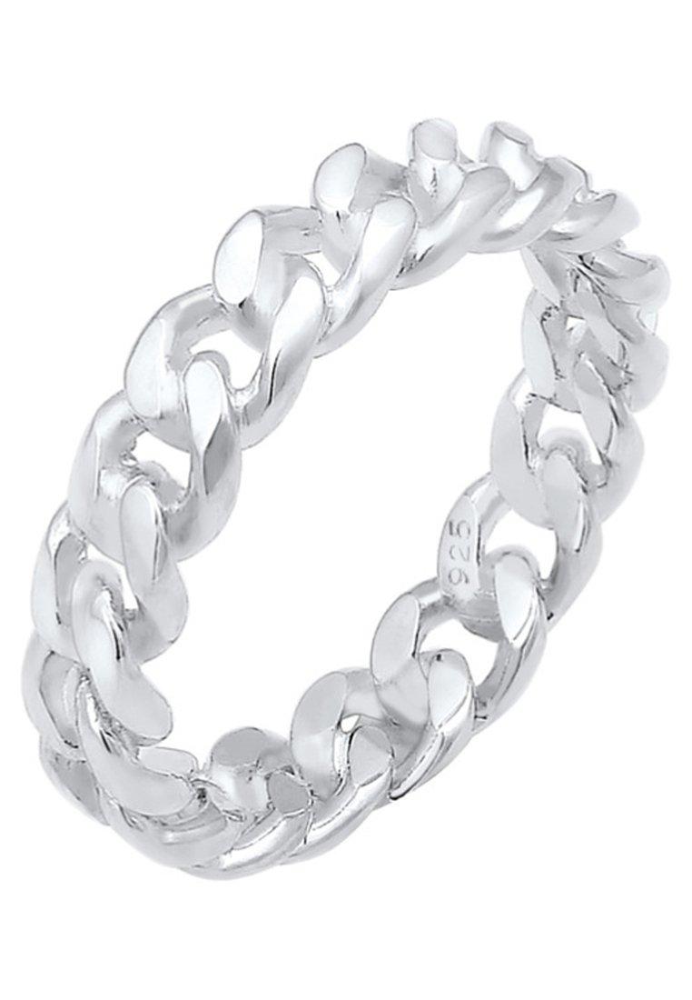 Elli - BANDRING TWISTED - Ringe - silver coloured