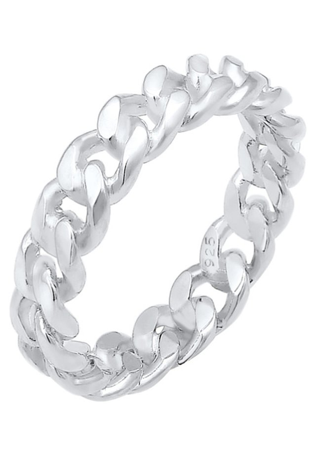 BANDRING TWISTED - Ringe - silver coloured