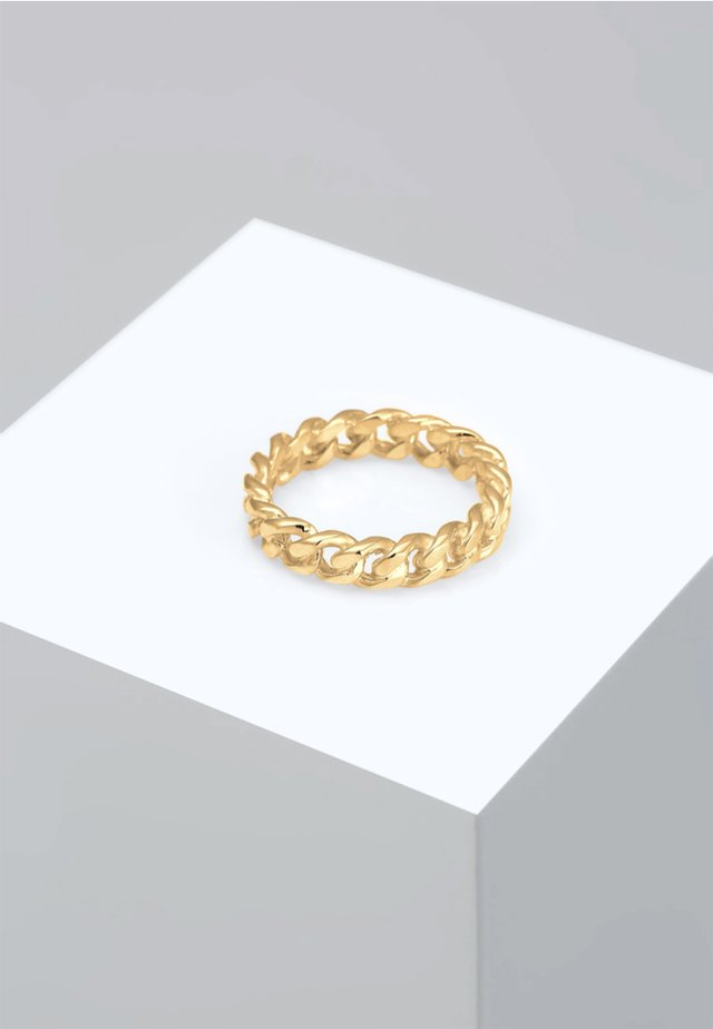 BANDRING TWISTED - Anello - gold coloured