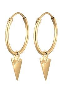 Elli - DREIECK GEO  - Boucles d'oreilles - gold coloured - 0