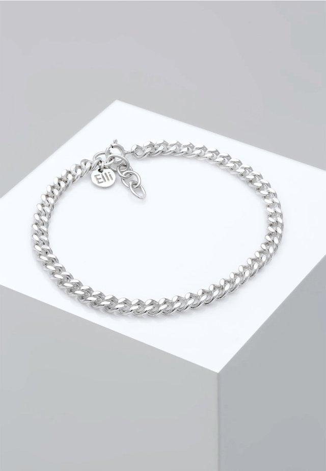 PANZERKETTE MASSIV BASIC BLOGGER TREND  - Armband - silver coloured