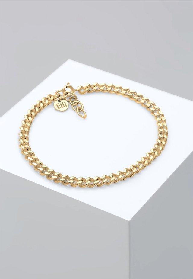 PANZERKETTE MASSIV BASIC BLOGGER TREND  - Bracelet - gold