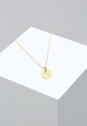 PLÄTTCHEN BOX CHAIN VINTAGE ANTIQUE - Ketting - gold