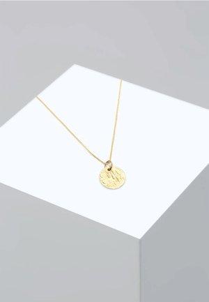 PLÄTTCHEN BOX CHAIN VINTAGE ANTIQUE - Collana - gold
