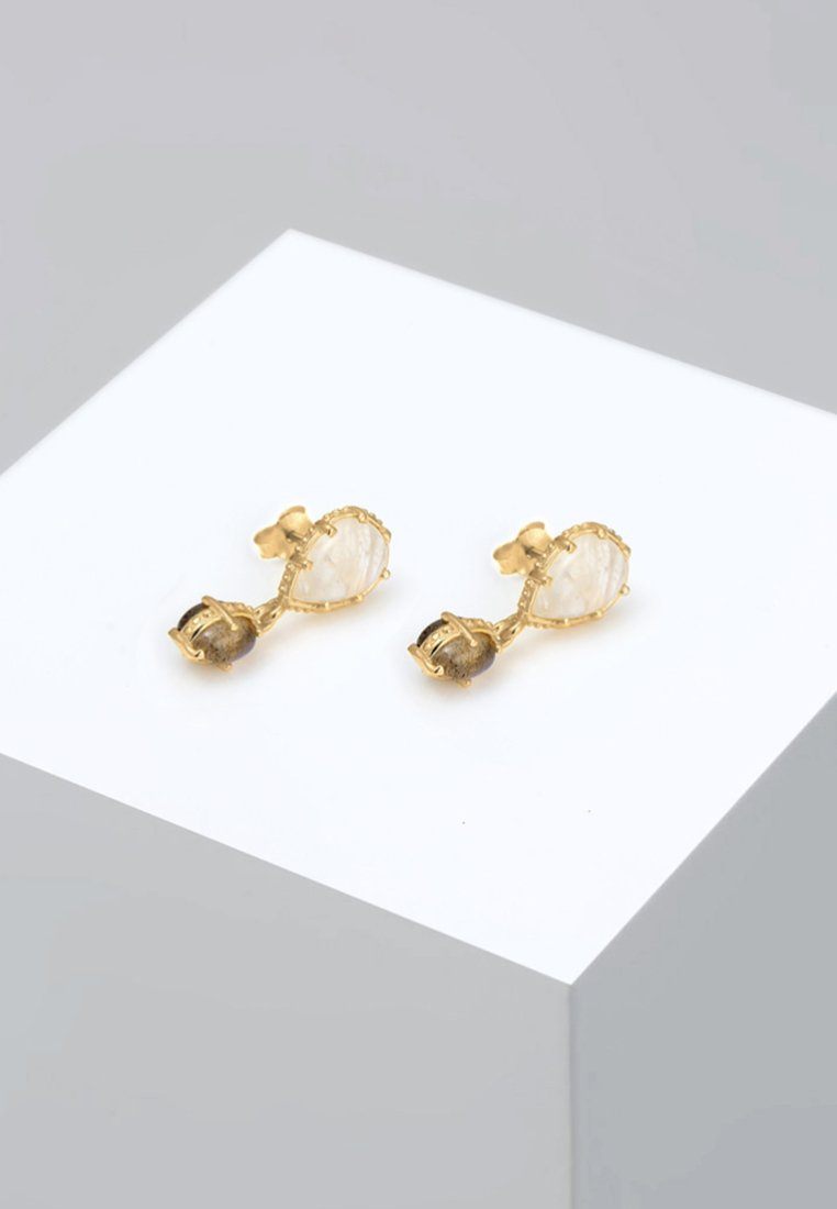 Elli - Boucles d'oreilles - gold-coloured