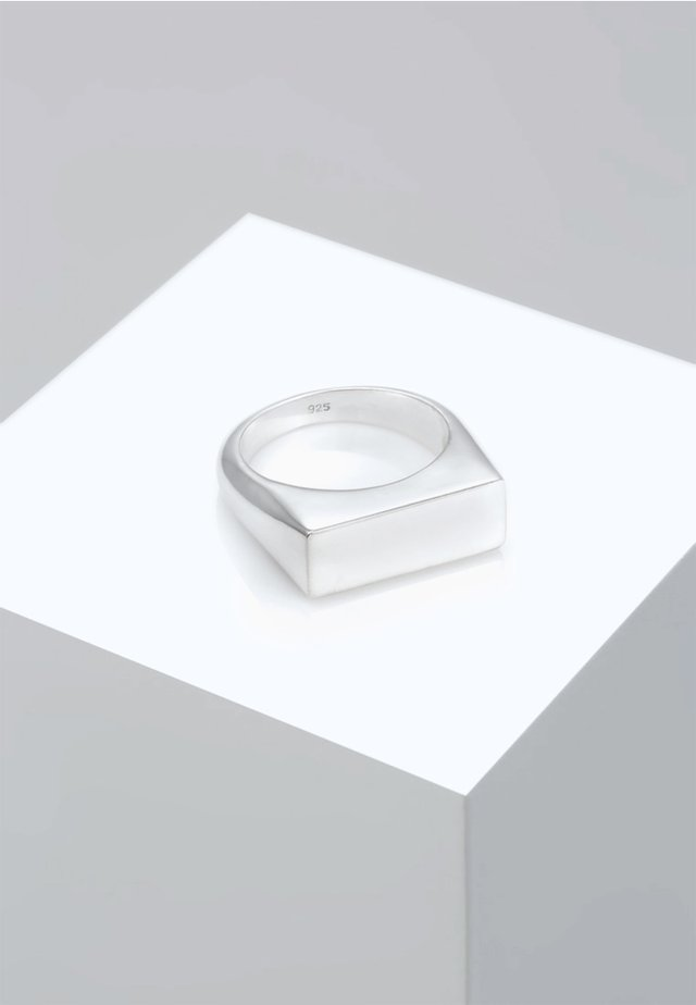 MATT GEO BASIC BLOGGER TREND - Sormus - silver-coloured
