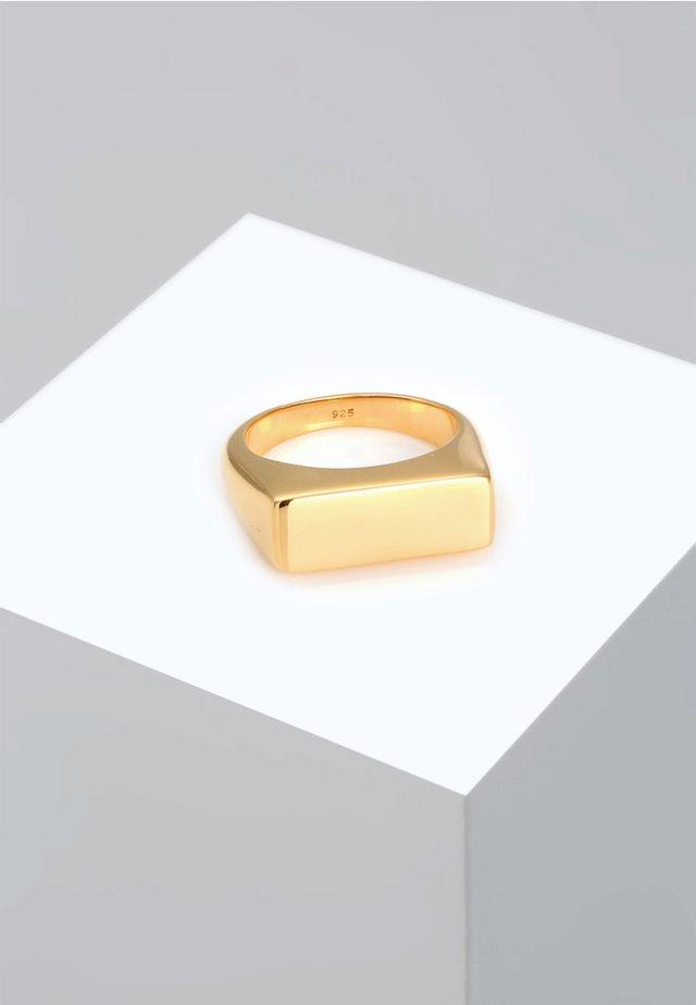 MATT GEO BASIC BLOGGER TREND - Bague - gold-coloured