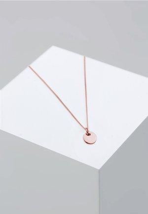 PLÄTTCHEN KREIS GEO BASIC - Collar - pink gold