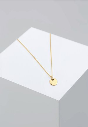 PLÄTTCHEN KREIS GEO BASIC - Ketting - gold-coloured