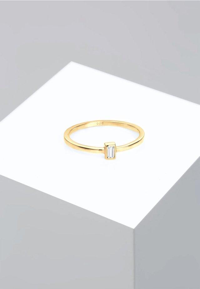 LIEBE GEO VINTAGE  - Pierścionek - gold
