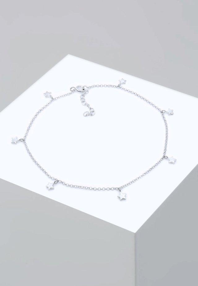 FUSSSCHMUCK STERNE ASTRO  - Bracciale - silver-coloured