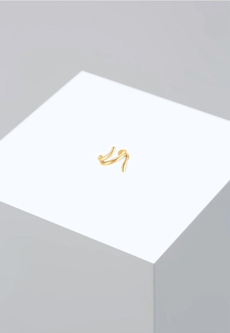 Elli - EARCUFF GEDREHT TREND - Örhänge - gold-coloured