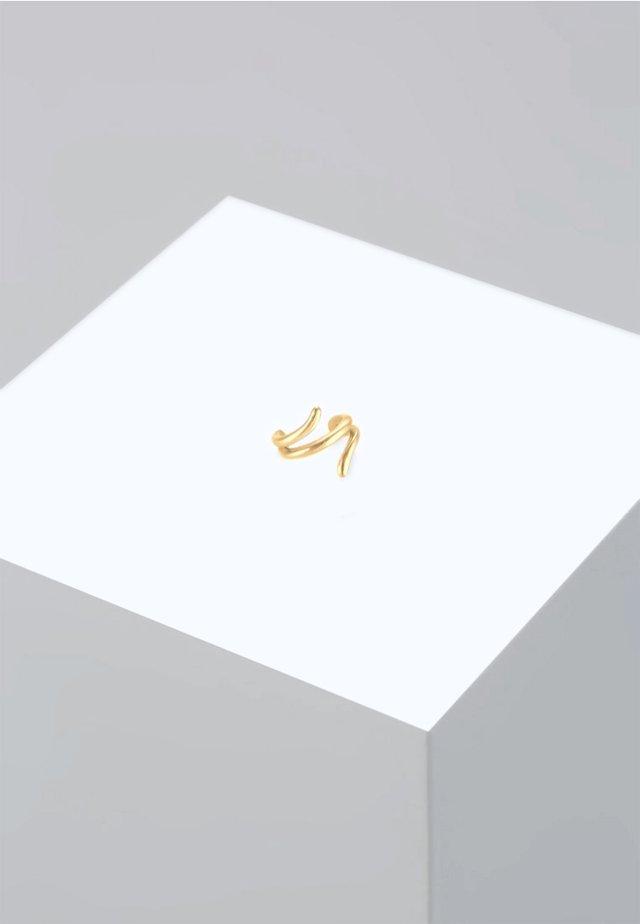 EARCUFF GEDREHT TREND - Oorbellen - gold-coloured