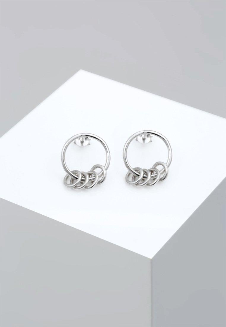 Elli - GEO  - Earrings - silver-coloured