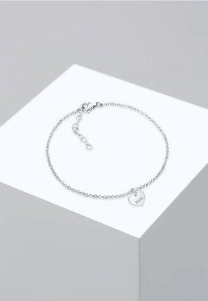 MUM WORDING HERZ PENDANT  - Armbånd - silver