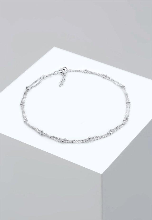FUSSSCHMUCK KUGELKETTE  - Bracciale - silver-coloured