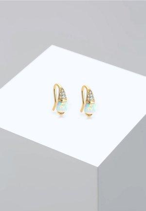Pendientes - gold-coloured