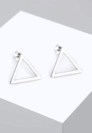 GEO DREIECK  - Orecchini - silver-coloured
