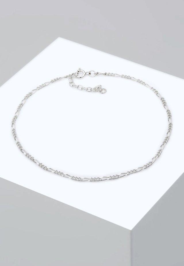 FUSSSCHMUCK FIGAROKETTE - Armband - silver-coloured