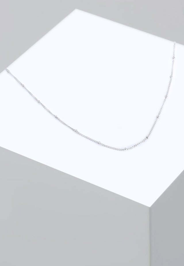 BASIC KUGELN - Halsband - silver-coloured