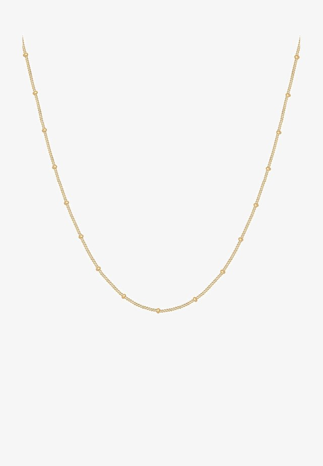 BASIC KUGELN - Ketting - gold-coloured