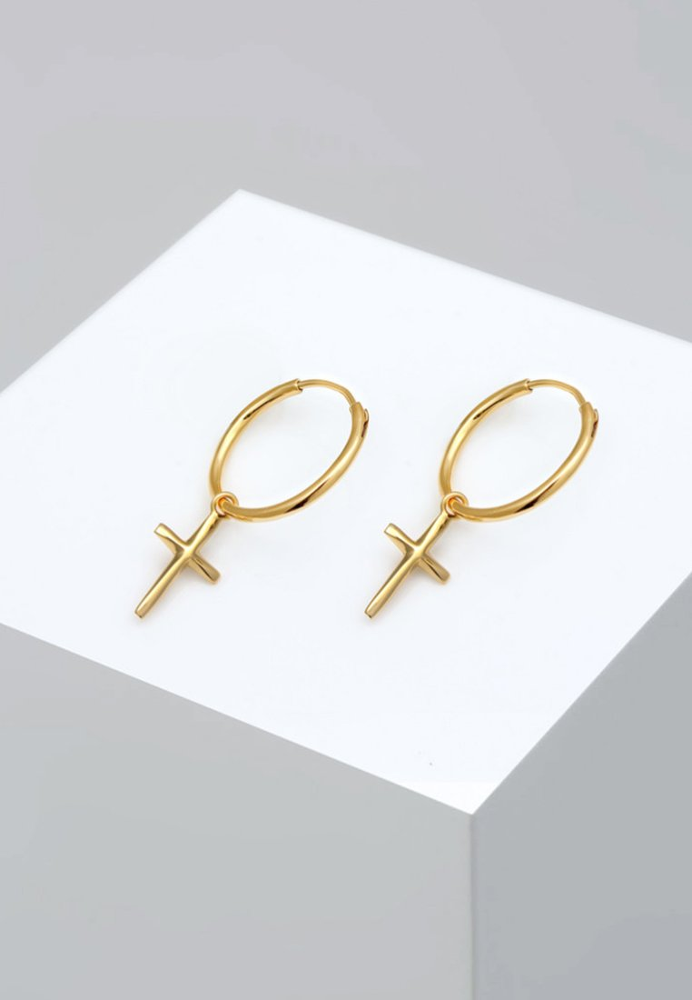 Elli - CREOLEN HÄNGER - Boucles d'oreilles - gold-coloured