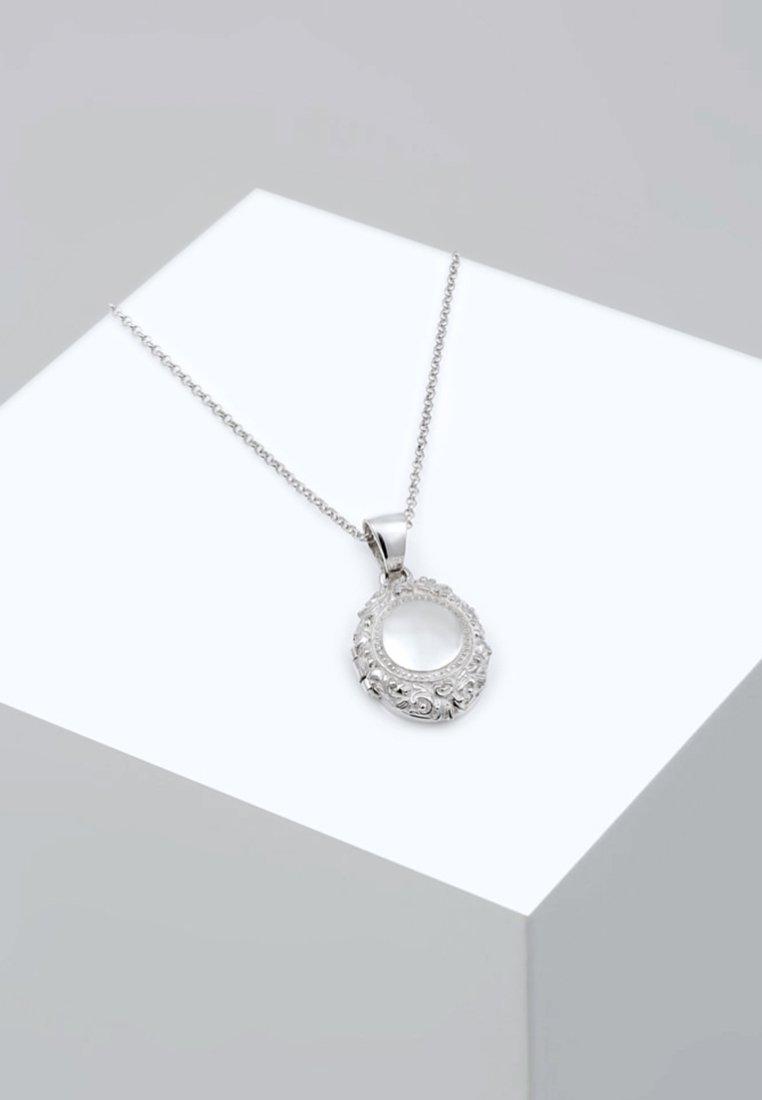 Elli - AMULETT MEDALLION ORNAMENT - Halskette - silber