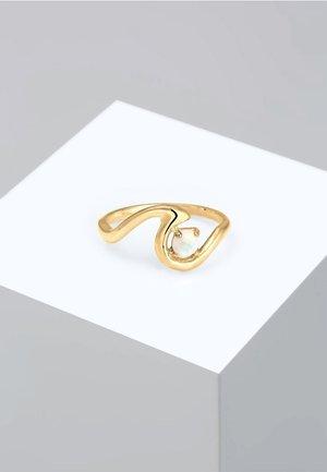 WAVE  - Anillo - gold
