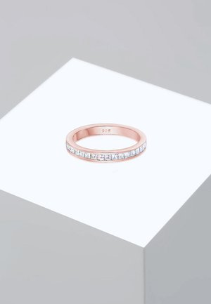 Pierścionek - roségold-coloured