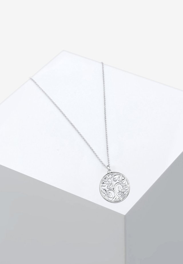 MÜNZE TREE OF LIFE LEBENSBAUM  - Ketting - silver-coloured