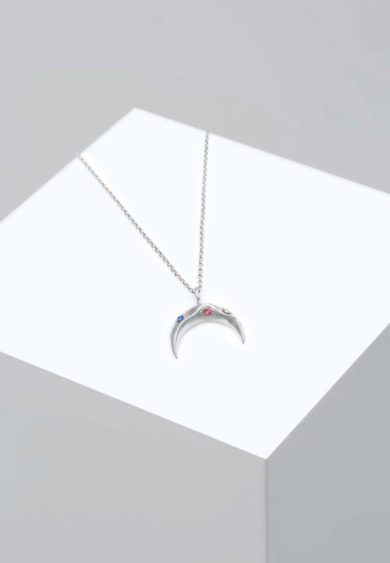 KristalleCollier Mond Bunt coloured Sichel Silver Elli Swarovski® xoWCrBeQd
