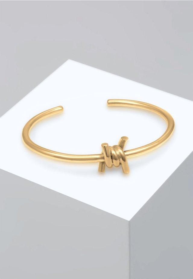 ARMREIF KNOTEN BLOGGER TREND  - Bracelet - gold-coloured