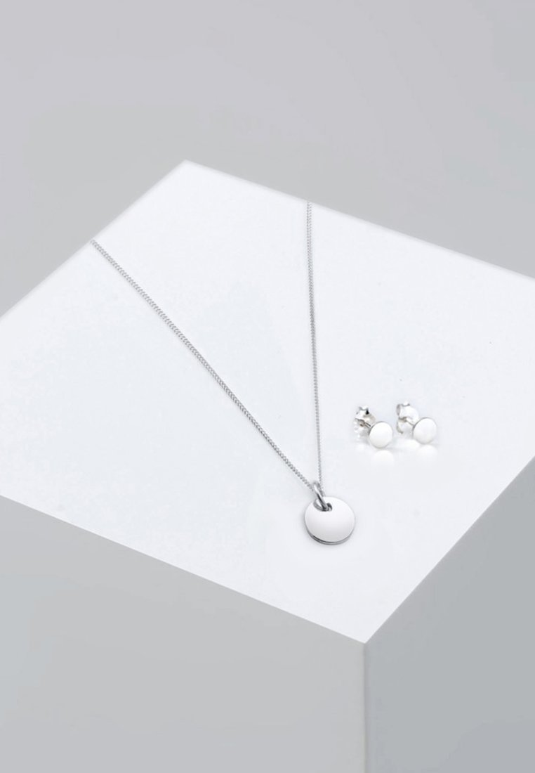 Elli - SET - Oorbellen - silver-coloured