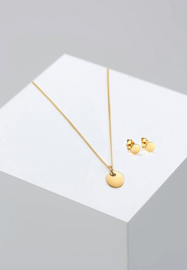 SET - Ohrringe - gold-coloured